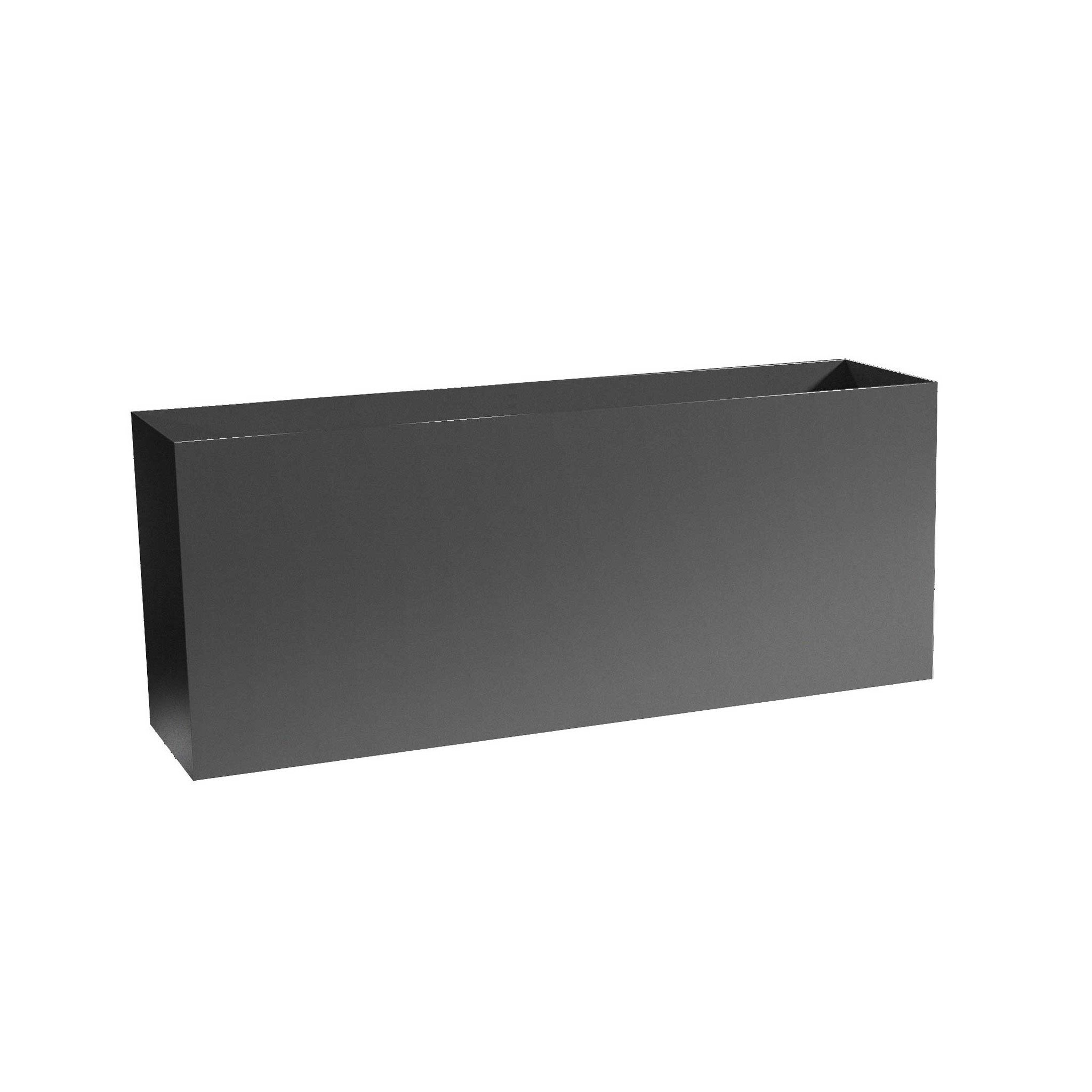 Low Profile Metal Planter Boxes - Aluminum - 16' Tall, (32'/36'/40'/46' Length; 10' Width)