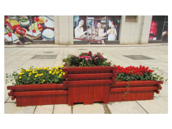 WP-28 White color tall planter