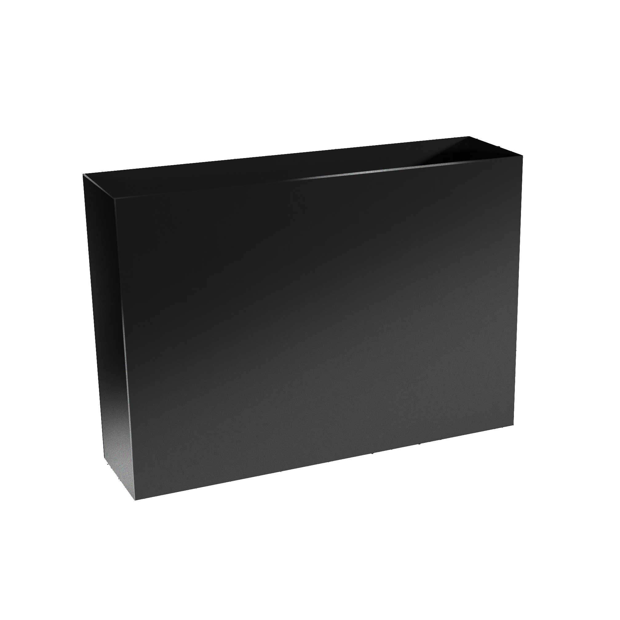 Modern Metal Divider Planter Boxes - 32' Tall, (32'/36'/40'/46'/60'/72' Length; 12' Width)
