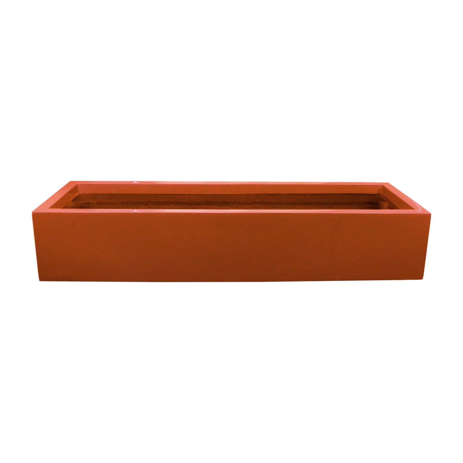 Outdoor Fiberglass Planter Box - 45'L x 15'W x 8'H