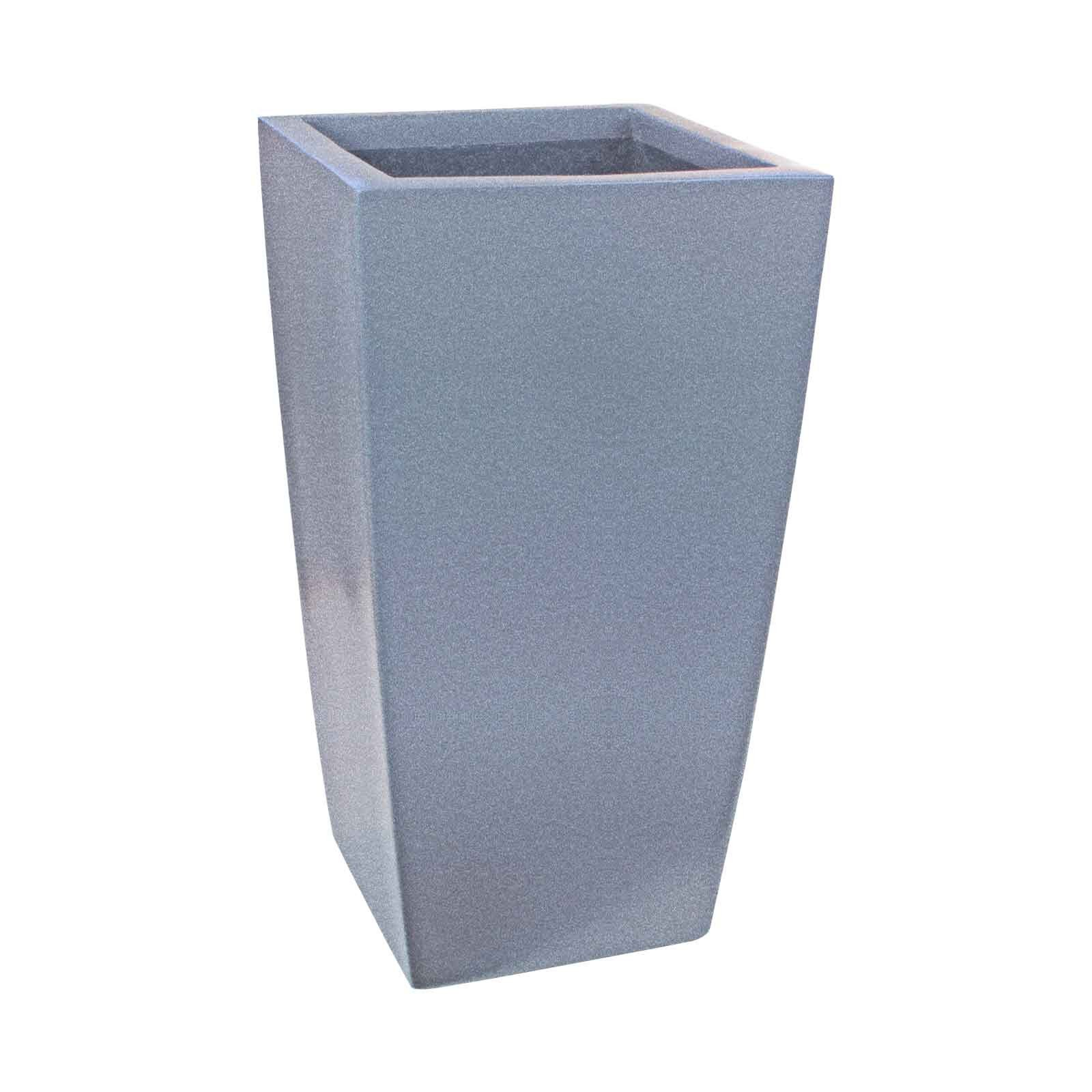 Large Tapered Square Planter - Fiberglass - 42'/48'/60' Tall