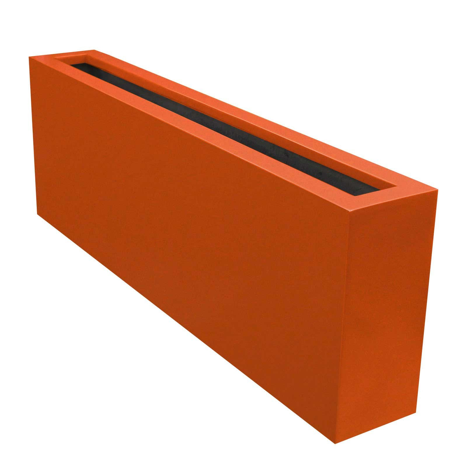 Contemporary Planter Box - Fiberglass - 54'L x 8'W x 18'H